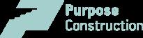 Purpose Construction logo